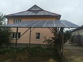 Мережева сонячна електростанція 10кВт, м. Долина, Івано-франківської обл. 3