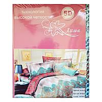 Комплект постельного белья 5D  Лиша