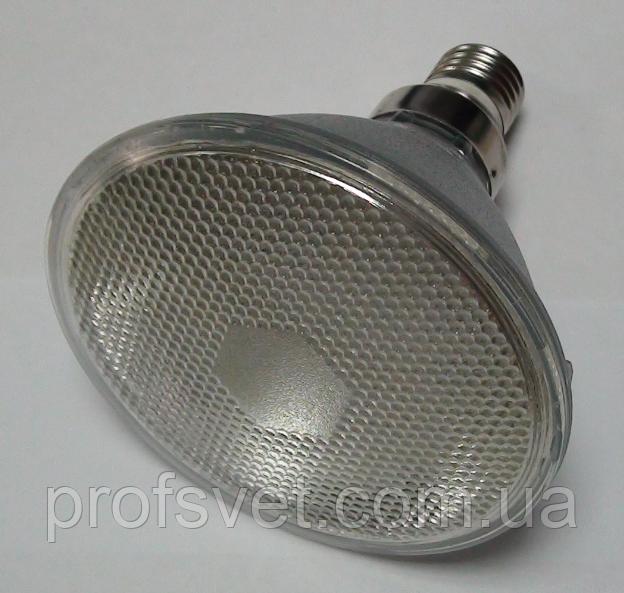 Лампа LED PAR38 120D 6 ватт Е27 красный свет