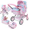 """Детская коляска для кукол """"Romantic""""80508"""