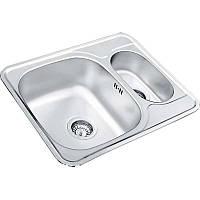 Кухонная мойка из нержавеющей стали UKINOX Comfort COl 594.488 15 GT 8K декор