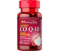 Puritan's Pride Коэнзим CO Q-10 100 mg (30 softgels)