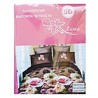 Комплект постельного белья 5D поликоттон Лиша