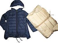 Куртка демисезонная для девочек на синтепоне, размеры 6 лет, F&D, арт. YY-2917