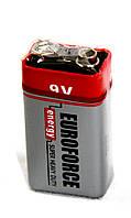 Батарейка Euroforce Energy Super Heavy Duty 6F22 9V