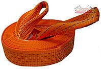 Трос буксировочный ленточный АВТОКАР™ ✔ нагрузка: 5 тонн  ✔ длина: 6 метров