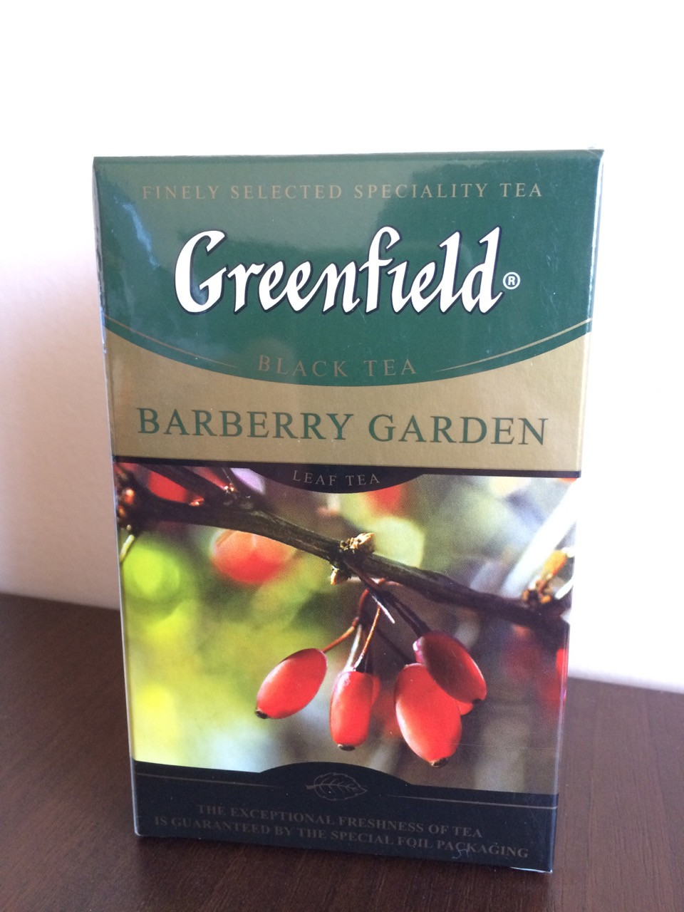 Чай Greenfield Barberry Garden 100 гр