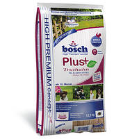 Сухой корм для собак Bosch (Бош) PLUS Truthahn & Kartoffel (индейка+картофель), 2,5кг.