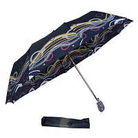 Зонт полосы на черном 301D-08