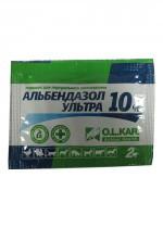 Альбендазол ультра-10% порошок 2г
