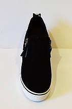 Слипоны женские замшевые Allshoes 2-18, фото 3
