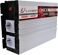 Инвертор напряжения Luxeon IPS-4000S (2000Вт), чистая синусоида, преобразователь 12 в 220