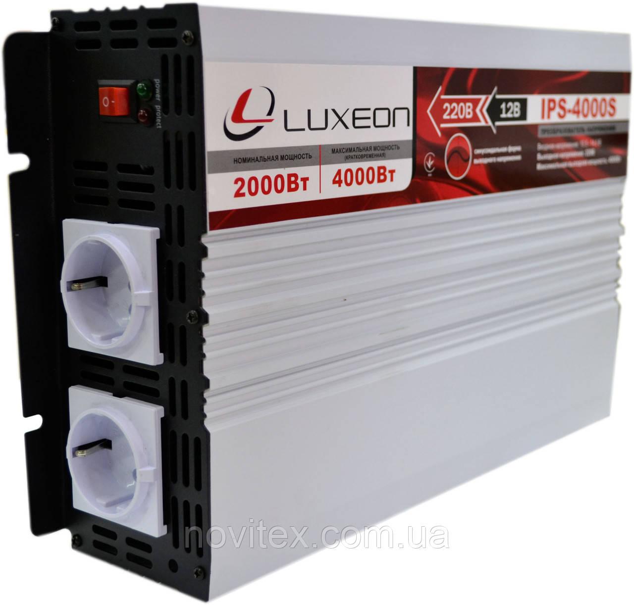 Инвертор Luxeon IPS-4000S (2000Вт), фото 1