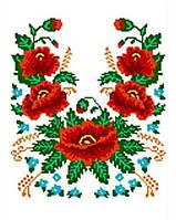 Рушник свадебный под бисер РБ 14