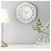 IKEA СКУРАР Настенные часы, белый : 90310418, 903.104.18