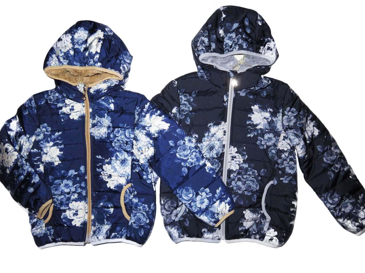 Куртка демисезонная для девочек на синтепоне, размеры 6 лет, F&D, арт. YY-2904