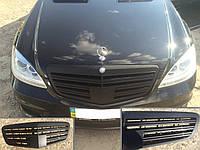 Решетка радиатора в стиле AMG Black на Mercedes S-Class w221