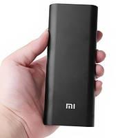 Акумулятор зарядний Power Bank 16000 mah Xiaomi чорний, фото 1