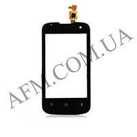 Сенсор (Touch screen) Fly IQ430 Evoke с камерой черный