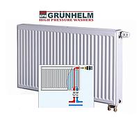 Радиатор стальной GRUNHELM с нижним подключением, 22 тип (500х600 мм)