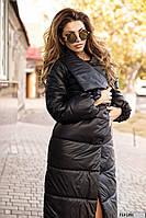 Стеганное пальто на синтепоне 713 (29)