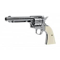 Пневматичний пістолет Umarex Colt Single Action Army 45 Brown дизайн нікель