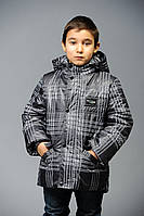 Куртка в клеточку Макс, клетка