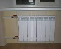 Установка и замена радиаторов отопления (батарей), Киев — Сантехника