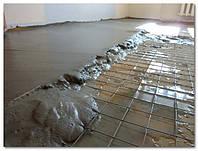 Стяжка:монолитная бетонная или с использованием керамзита в Харькове