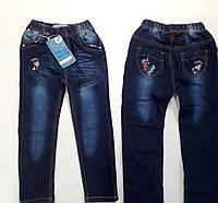 Джинсы для девочки  р.98-128 лет. Брюки, джинсы детские купить оптом