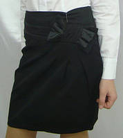 Школьная юбка для девочки Бант подросток