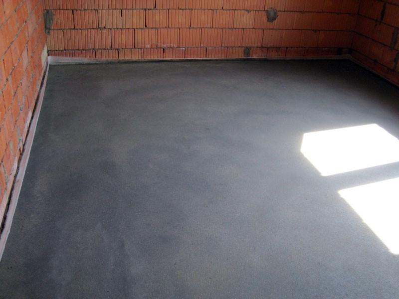 Стяжка:монолитная бетонная или насыпанная с использованием керамзита в Харькове