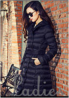 Очень тёплое стеганное пальто на синтепоне. За счёт длины-хорошо держит тепло внутри ал №08164