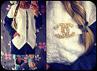 Женский стеганный кардиган с карманами *Шанель*