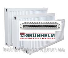 Радиатор стальной GRUNHELM с боковым подключением, 22 тип (500х500 мм)