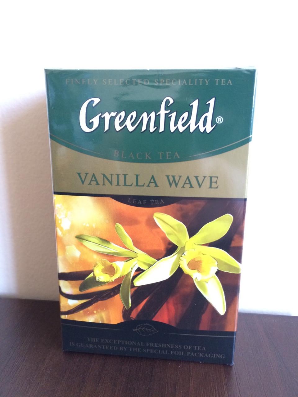 Чай Greenfield Vanilla Wave 100 гр