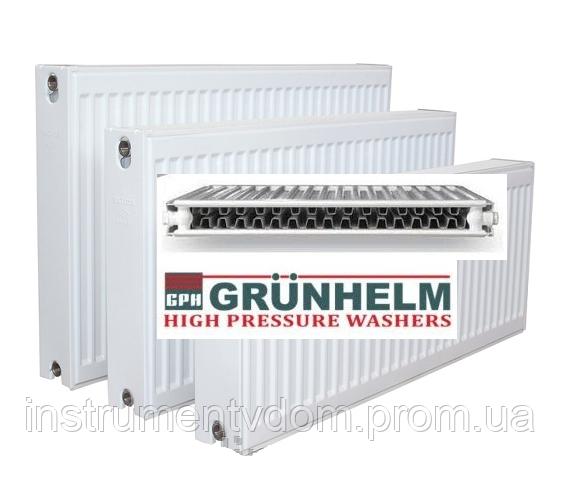Радиатор стальной GRUNHELM с боковым подключением, 22 тип (500х1000 мм)