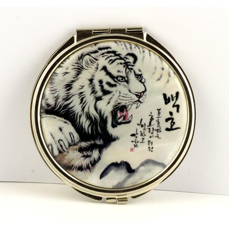 Косметическое зеркало «Тигр»