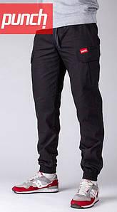 Мужские черные штаны Cargo Rush, Black Punch