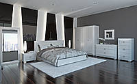 """Мебель для спальной комнаты """"Karat white"""""""