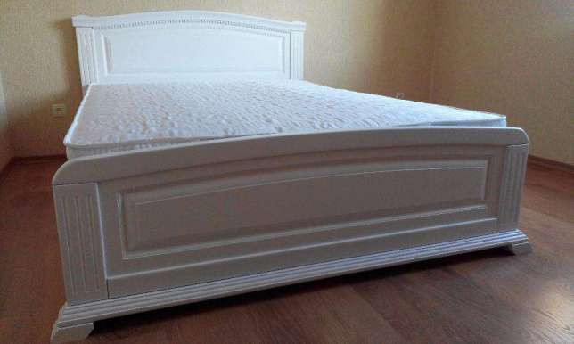 """Кровать (160*200) двуспальная  """"Престиж"""" в прованском стиле"""