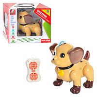 Собака S EA 80285 R интерактивний, радіокер., рос., муз., світло, бат., кор., 30-24-18 см