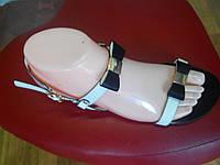 Летние женские сандалии  аккуратными бантиками