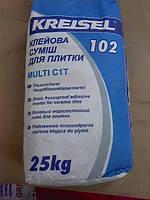 Клей для плитки 102 MULTI Kreisel 1/25кг.