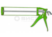 12-006 Пистолет для герметика скелетный метал.