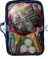 Набор для настольного тенниса MARSHAL (2рак+3шар+сетка)