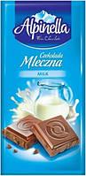 Шоколад alpinella альпинелла молочный