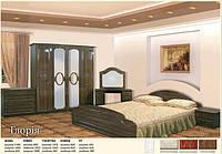 Набор для спальни 4Д Глория лак (Мебель-Сервис)