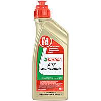 Масло трансмиссионное Castrol ATF Multivehicle (1л), полусинтетика, 4107514244