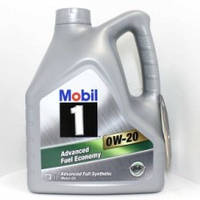 Масло моторное MOBIL 1 0W-20 API SN/CF, AСEA A1/B1,ILSAC GF-5 (4л), синтетика 4107648447